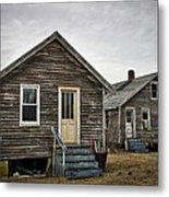 Chincoteague Shanty Metal Print