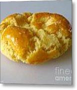 Chinese Almond Cookie Metal Print