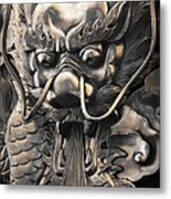 Chinese Art Metal Print