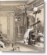 Chinese Ceremonies Performed  When An Metal Print