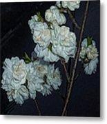 Chinese Flowers Metal Print