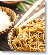 Chinese Food Metal Print by Mythja  Photography