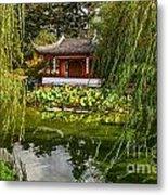 Chinese Garden Breeze Metal Print