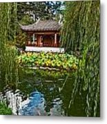 Chinese Garden Dream Metal Print