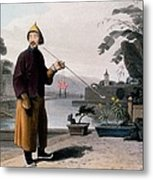 Chinese Gentleman, From A Picturesque Metal Print