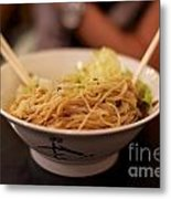 Chinese Noodle Dish Metal Print