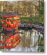 Chinese Reflections  Metal Print