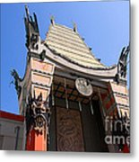 Chinese Theatre In Hollywood Metal Print