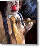 Chippy The Clown Metal Print