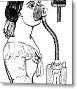 Chloroform Inhaler, 1858 Metal Print