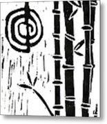 Cho Ku Rei And Bamboo Metal Print by Lynn-Marie Gildersleeve