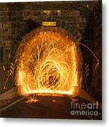 Choas Tunnel Metal Print