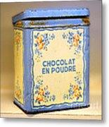 Chocolat En Poudre Metal Print