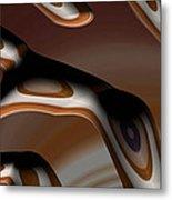Chocolate Bark Metal Print