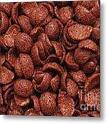 Chocolate Cereals Metal Print