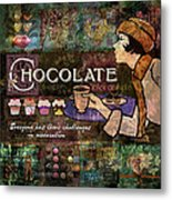 Chocolate Metal Print by Evie Cook