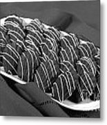 Chocolate Madeleines Metal Print