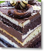 Chocolate Temptation Metal Print