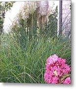 Choctaw Flowers Metal Print