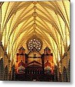 Choir Loft At Saint Josephs Cathedral Buffalo New York Metal Print