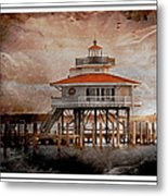 Choptank River Lighthouse Metal Print