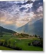 Chosen Village Metal Print