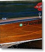 Chris Craft Raceabout Metal Print