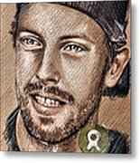 Chris Martin Metal Print