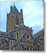 Christ Church Cathedral In Dublin Metal Print