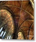 Christ Church Cathedral Roof Detail Metal Print