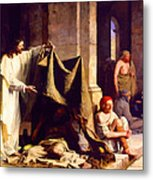 Christ Healing The Sick  Metal Print