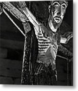 Christ Of Salardu - Bw Metal Print