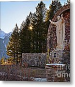 Christ Of The Mines Metal Print