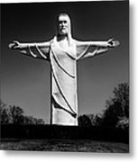 Christ Of The Ozarks Metal Print by Benjamin Yeager