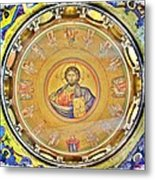 Christ Pantocrator -- Church Of The Holy Sepulchre Metal Print