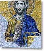 Christ Pantocrator II Metal Print