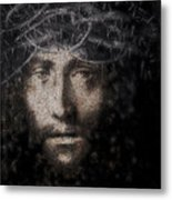 Christ Suffering Metal Print