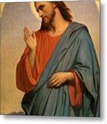 Christ Weeping Over Jerusalem Ary Scheffer Metal Print