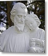 Christ With A Child Metal Print