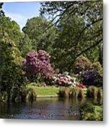 Christchurch Botanic Gardens New Zealand Metal Print