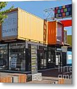 Christchurch Restart Containers Metal Print