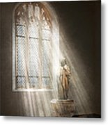 Christian - Heavenly Father Metal Print by Mike Savad