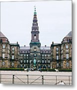 Christiansborg Slot Metal Print