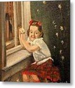 Christine By The Window - 1945 Metal Print