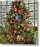 Christmas - An American Christmas Metal Print