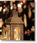 Christmas And New Year Decoration Metal Print
