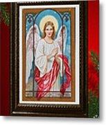 Christmas Angel Art Prints Or Cards Metal Print