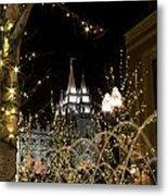 Christmas At Temple Square 11 Metal Print
