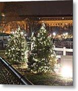 Christmas At The Ellipse - Washington Dc - 01131 Metal Print by DC Photographer