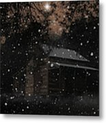 Christmas At The Homestead Metal Print